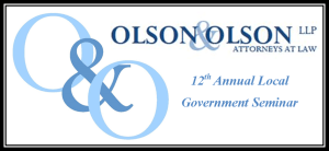 12th Annual Local Government Seminar January 21, 2016