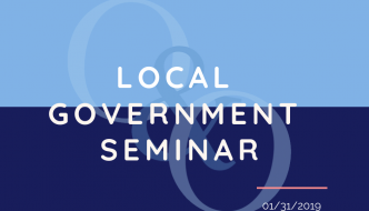 Local Government Seminar 2019